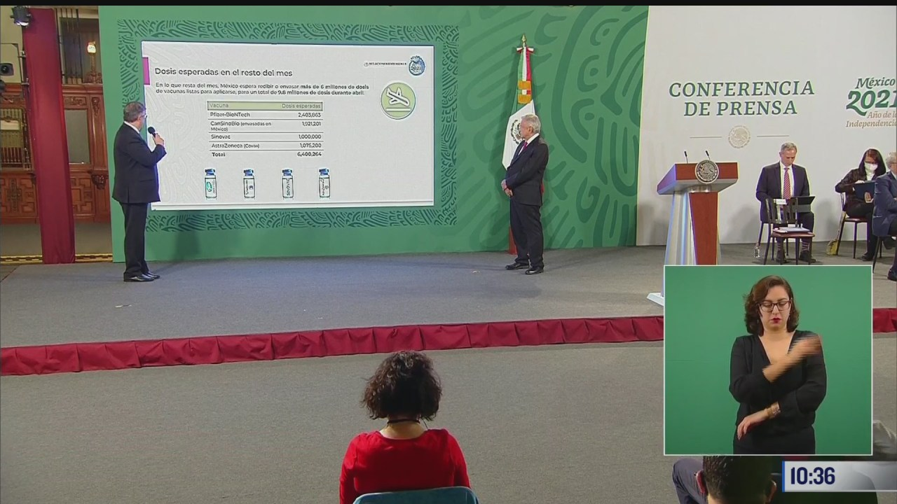 mexico recibira 6 4 millones de vacunas contra covid 19 a finales de abril ebrard