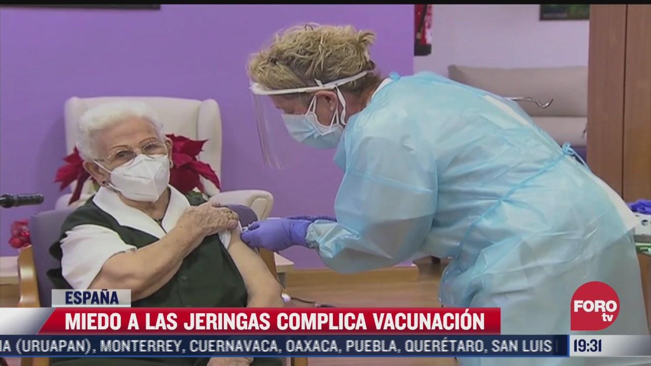 miedo a las agujas obstaculiza vacunacion en espana