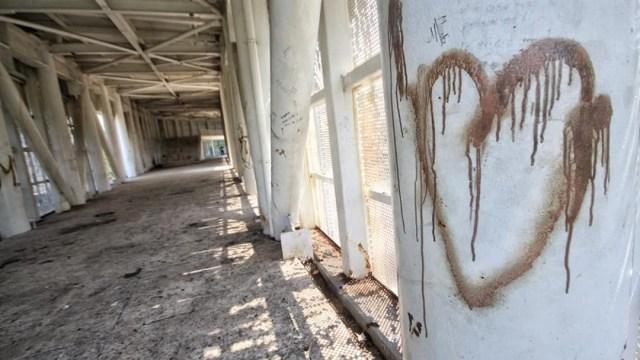Museo abandonado Tabasco, sitio 'cruising' para sexo escondidas. FOTO Redes Sociales