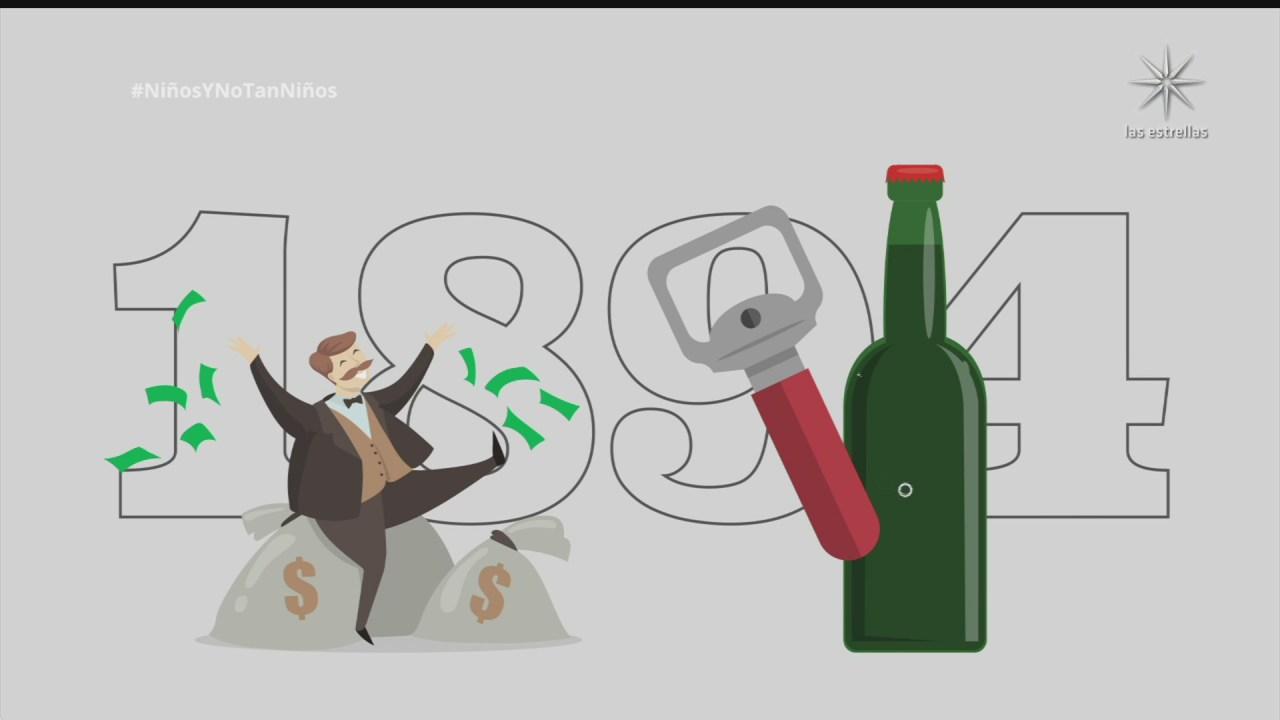 ninos y no tan ninos cual es el origen del destapador de botellas