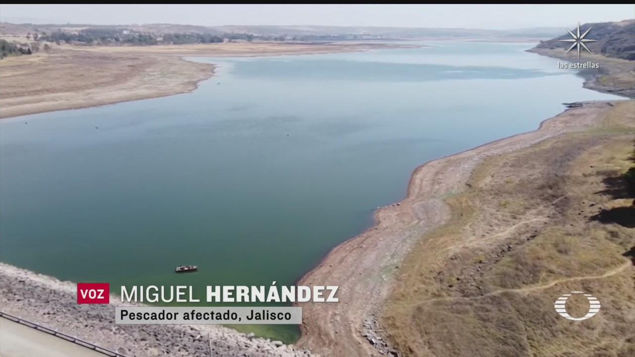 niveles de presas en guanajuato y jalisco se encuentran en niveles bajos