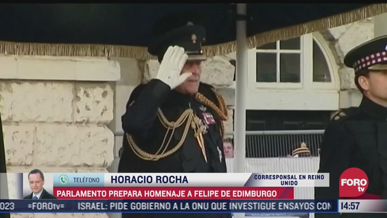 no habra funeral de estado por muerte de duque de edimburgo
