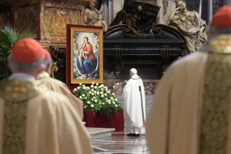 Papa Francisco Santa Misa Crismal Jueves Santo 2021