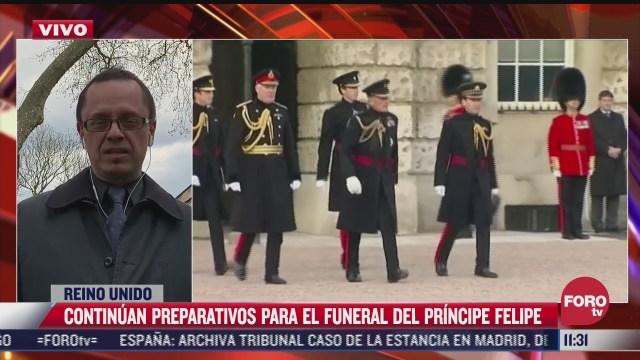 quienes seran los invitados al funeral del principe felipe