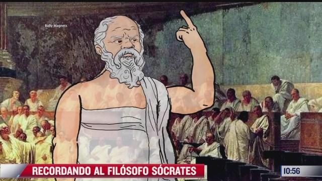 recordando al filosofo socrates