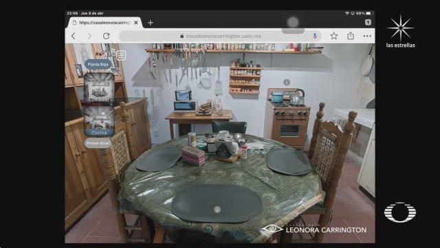 recorrido virtual por la casa de leonora carrington