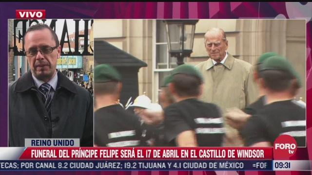 reino unido alista funeral del principe felipe previsto para el sabado 17 de abril
