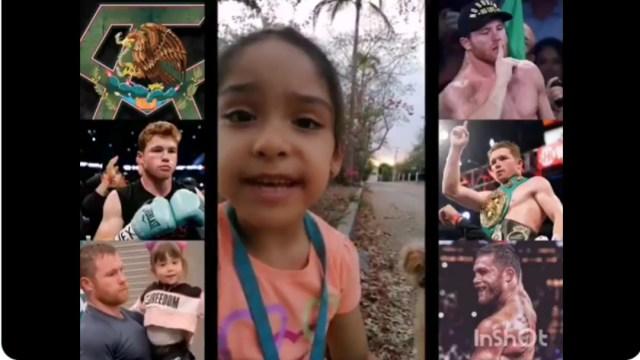 Canelo Álvarez, tumor, rifa, niña, captura de pantalla
