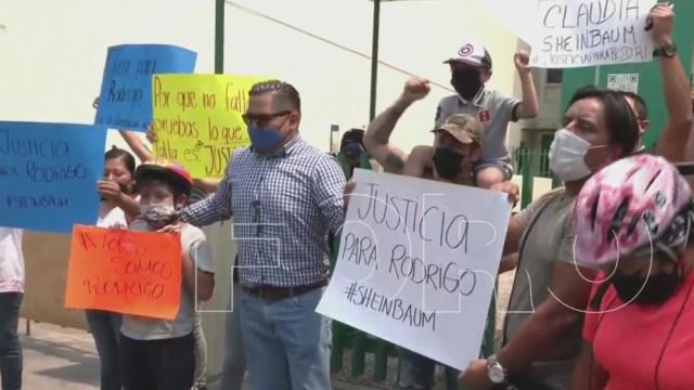 Termina audiencia inicial presunto asesino del niño ciclista Rodrigo (FOROtv)