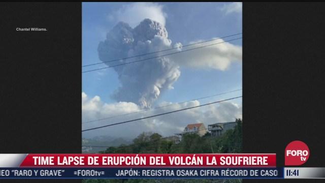 sorprende time lapse de este volcan
