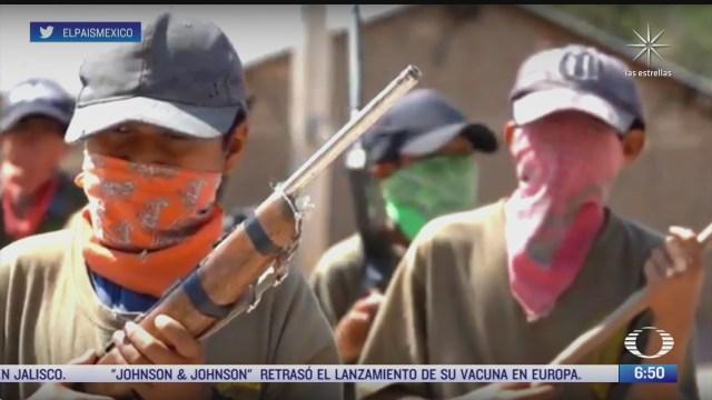 temen detenciones por presentar ninos armados como policia comunitaria en guerrero