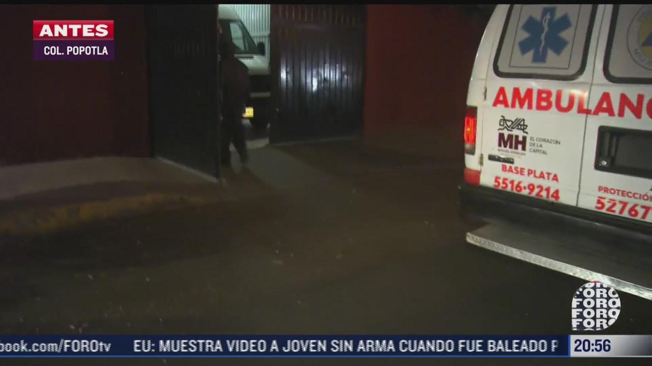 trabajador resulta lesionado tras caerle puerta encima en miguel hidalgo