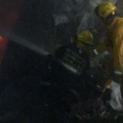 Tres hombres sufren graves quemaduras por incendio forestal en Guadalajara