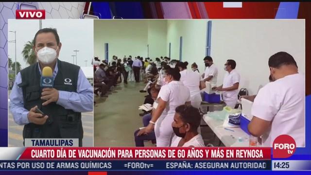 vacunacion en tamaulipas registra poca afluencia