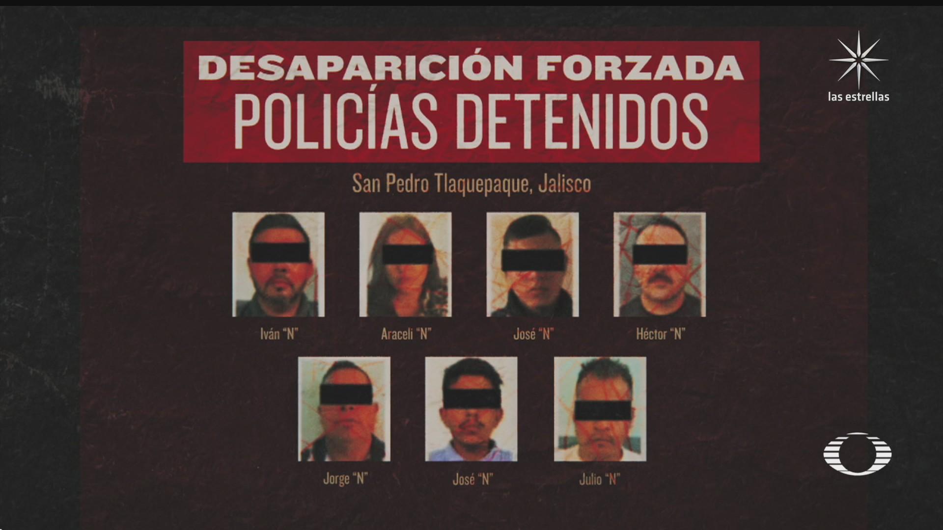video prueba participacion de policias en desaparicion de familia en jalisco