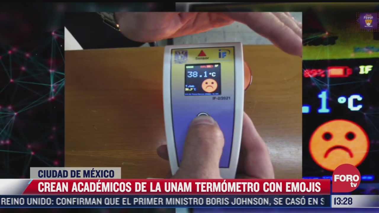 academicos de la unam crean termometro con emojis