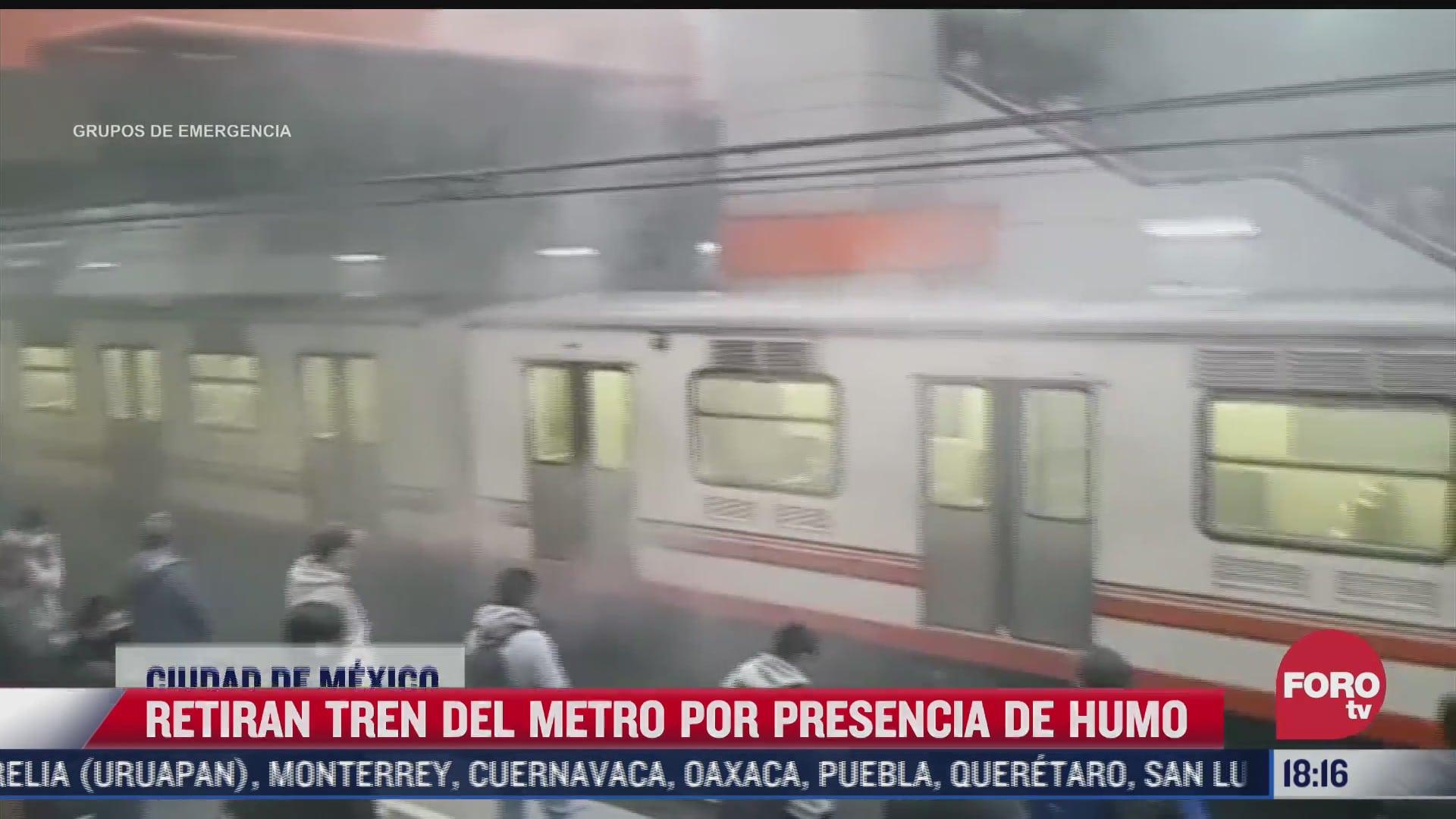 Ajustan zapatas de tren del Metro en la estación Pantitlán