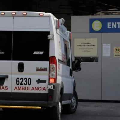 Ambulancia en la Ciudad de México