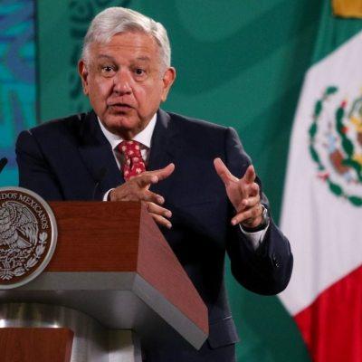 Andrés Manuel López Obrador, presidente de México, durante su conferencia mañanera