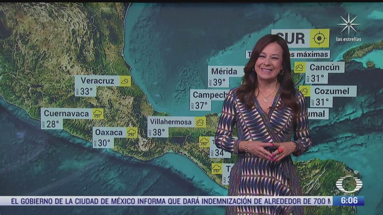 andres provocara lluvias con descargas electricas en el occidente de mexico
