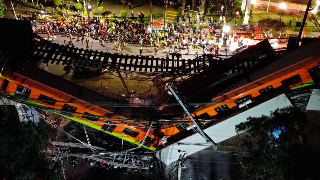 Ascienden a 23 los muertos y 65 hospitalizados por desplome de 'ballena' en Metro Olivo