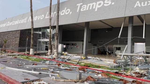 Así se vivió la tormenta que dejó sin luz a miles en Nuevo Laredo; equipo de beisbol queda atrapado