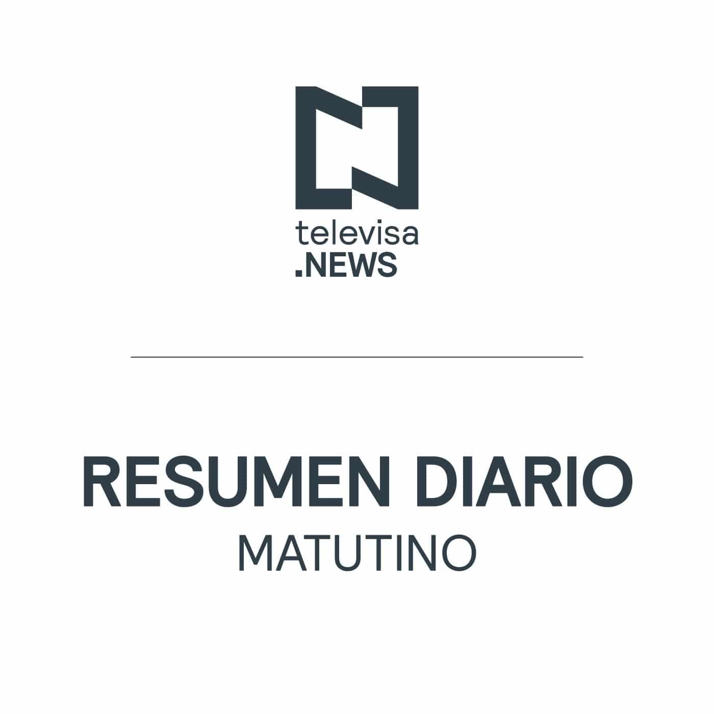 Últimas Noticias de la mañana de Televisa News