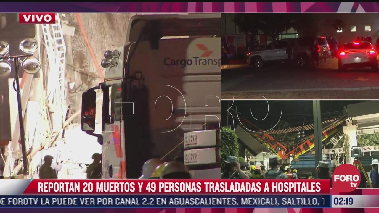 busqueda de familiares en hospitales de la cdmx tras accidente del metro