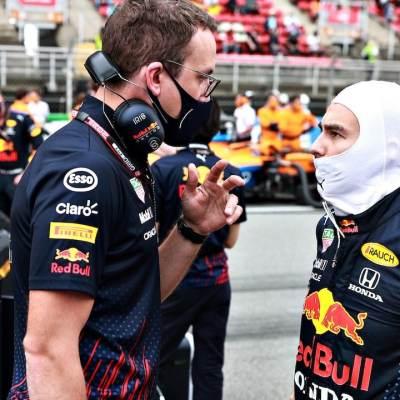 Sergio Pérez en el Gran Premio de España de F1 en el Circuito de Barcelona-Catalunya (Getty Images)
