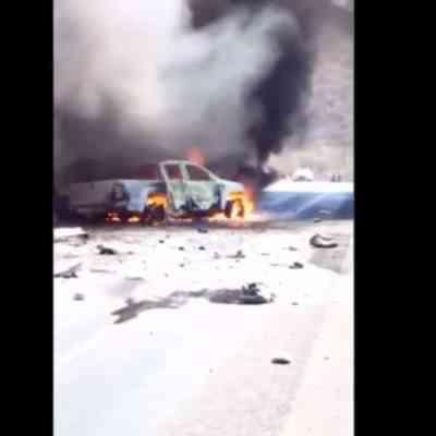 Chofer de tráiler muere tras fuerte accidente en la Colima-Manzanillo