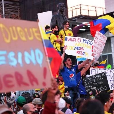 Cientos de personas continúan desaparecidas en Colombia tras manifestaciones