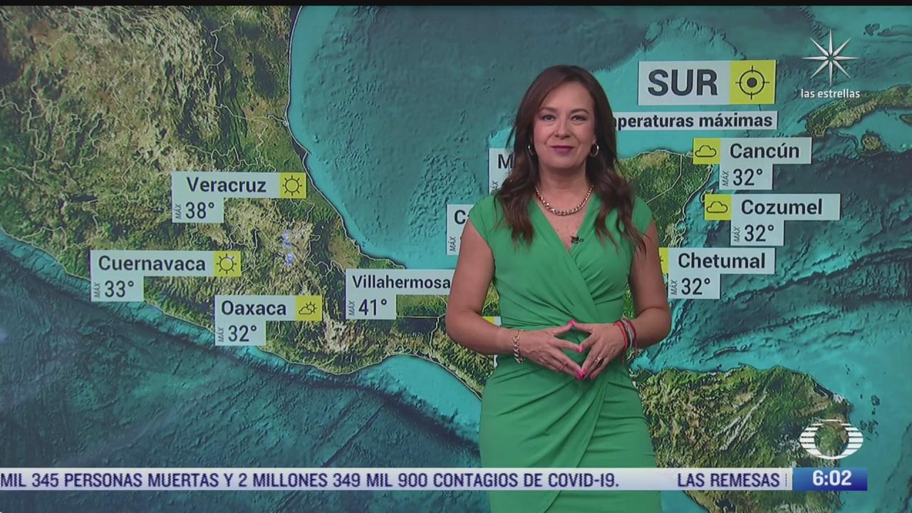 Onda de calor provocará altas temperaturas en México del 4 de mayo 2021