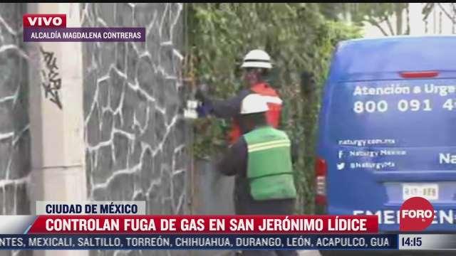 controlan fuga de gas natural en la magdalena contretas