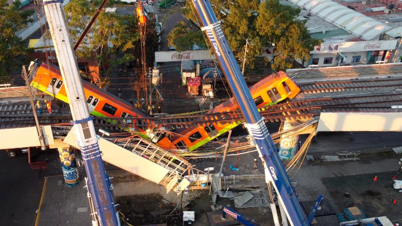 Cronología del desplome de una trabe en la estación Olivos de la L12 del Metro CDMX