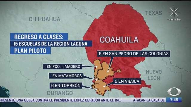 cuantas escuelas regresan este lunes 17 de mayo de 2021 a clases presenciales en coahuila