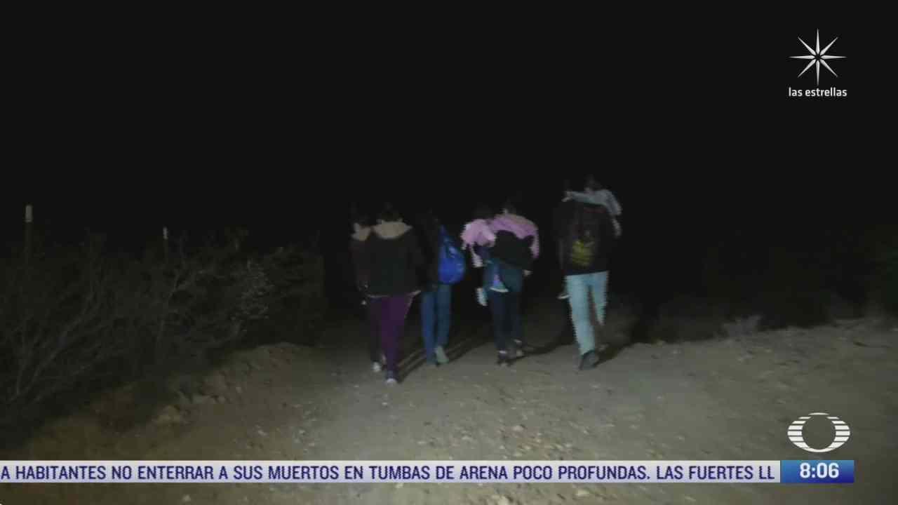 el drama de los migrantes que cruzan la frontera mexico eeuu