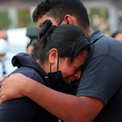 El viacrucis de las víctimas y familiares de desaparecidos del accidente en la L12 del Metro CDMX