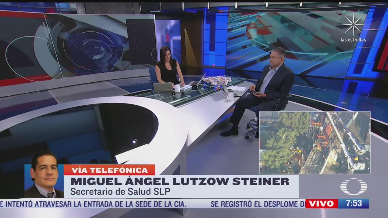 entrevista con miguel angel lutzow steiner secretario de salud de san luis potosi para despierta