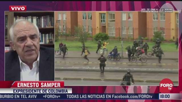 ernesto samper expresidente de colombia cuestiona las medidas adoptadas por el gobierno