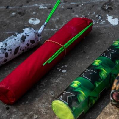 Explota pirotecnia durante arranques de campañas en Oaxaca y Veracruz