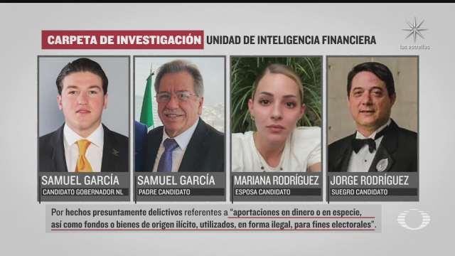 fgr abre investigacion contra candidatos al gobierno de nuevo leon