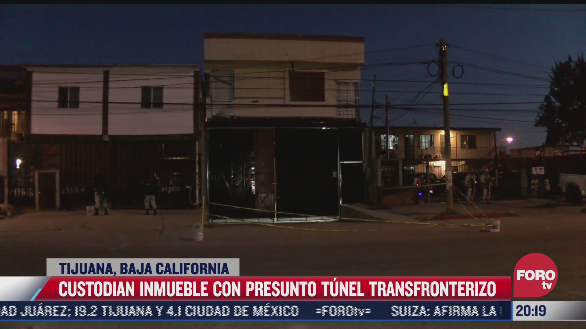 Hallan en Tijuana túnel fronterizo que conecta con EEUU