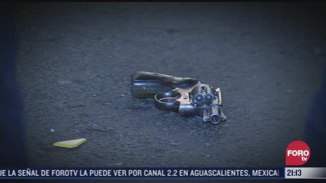 iztapalapa es el segundo lugar con mas detonaciones de arma fuego