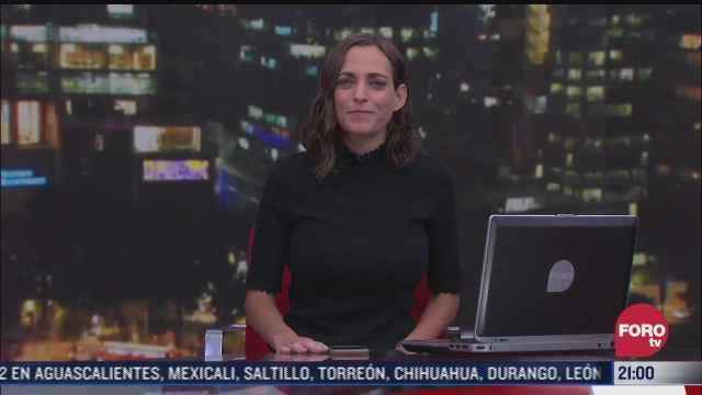 las noticias con ana francisca vega programa del 14 de mayo de