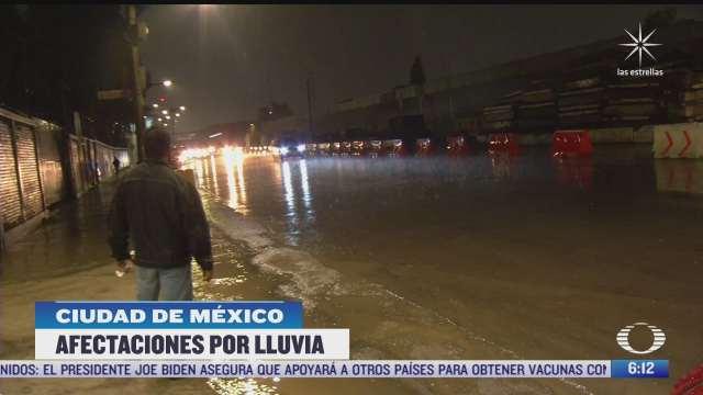 lluvia afecta servicio en la linea a del metro cdmx