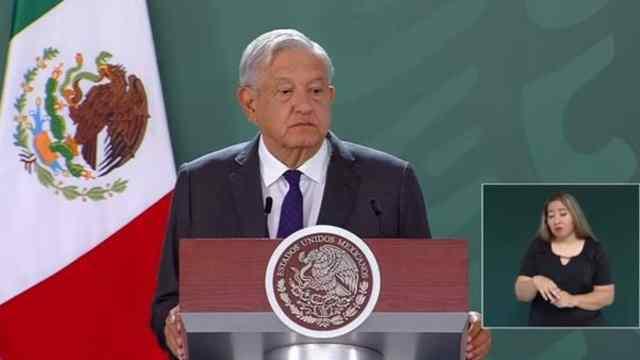 López Obrador en conferencia de prensa desde Torreón, Coahuila