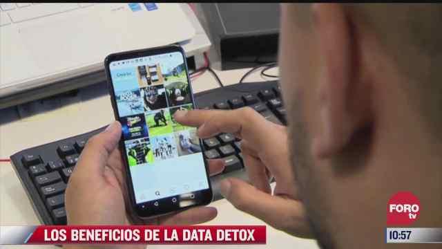 los beneficios de la data detox