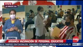 maestros de sonora son vacunados contra el covid