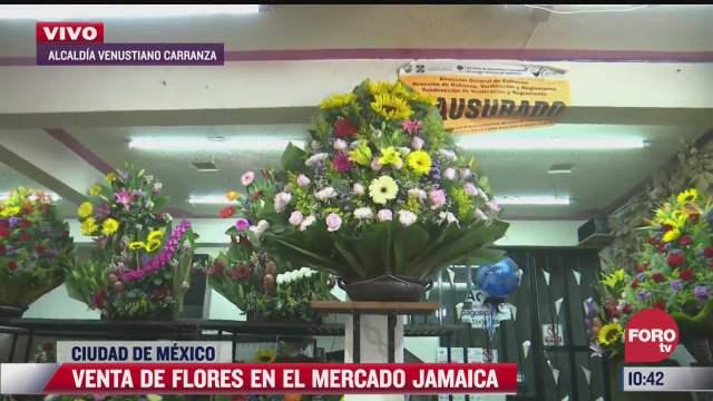 mercado de jamaica listo para el 10 de mayo