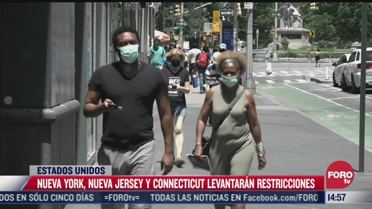 nueva york levantara las restricciones por covid
